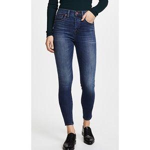 Madewell High Riser Skinny Denim Jeans - Size 27